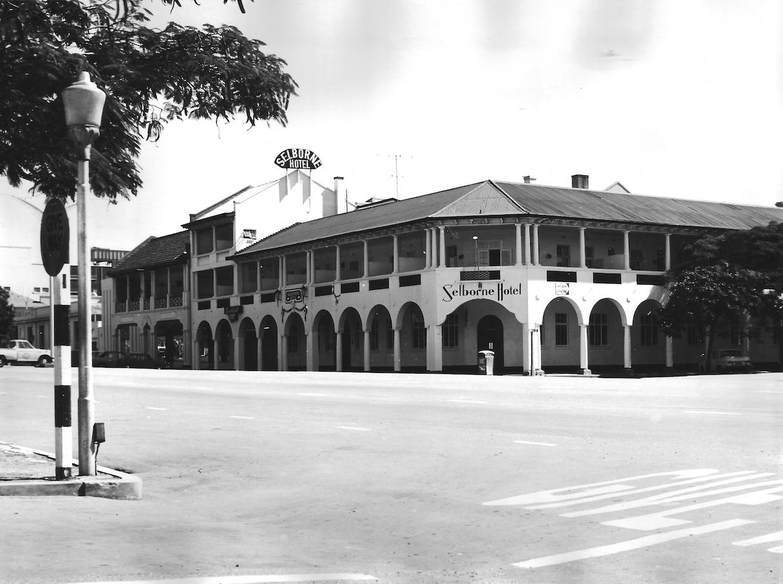Bulawayo Buildings Selborne Hotel Selborne Ave Rhodes St May 1977